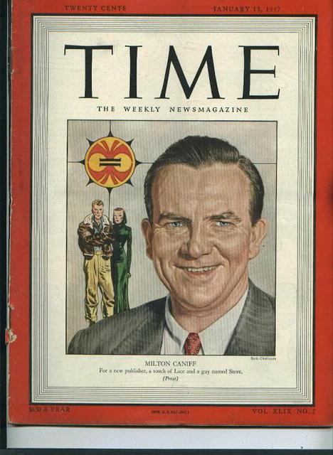 Time Magazine, Milton Caniff, 1/13/47