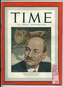 TIME, Labor's Clement Attlee, 2/6/50
