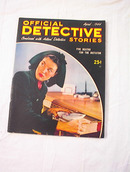 APRIL 1944 ISSUE OF OFFICAL DETECTIVE STORIES