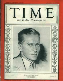 TIME, Eugene Luthor Vidal, 12/18/33