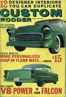Custom Rodder, Glittering Green Emerald,4/62