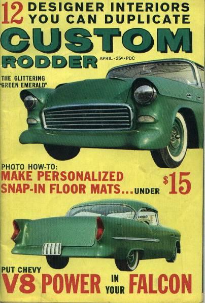 Custom Rodder, Glittering Green Emerald,4/62