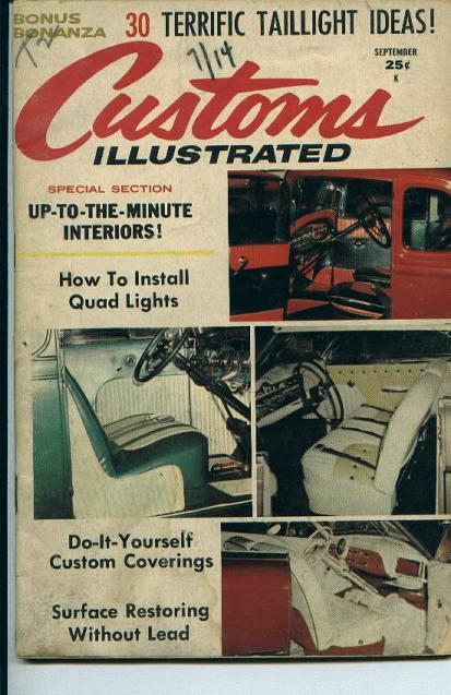 Customs Illustrated, Interiors!, 9/59