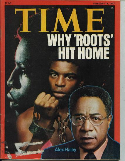 TIME, Author Alex Haley, 2/14/77