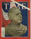 TIME, France's Pres.Charles De Gaulle, 7/1/66