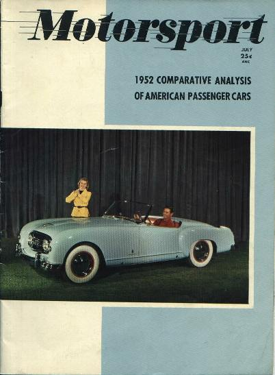 Motorsport,Comparative of Passenger Cars,7/52