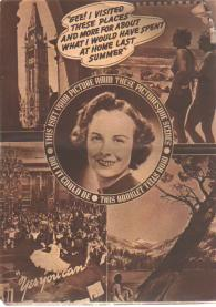 1930s Tour Ad booklet UT Safeway great photos