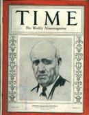 TIME, Princeton's Edward D. Duffield, 9/26/32