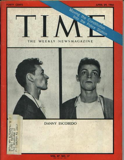 TIME, Convict Danny Escobedo, 4/29/66