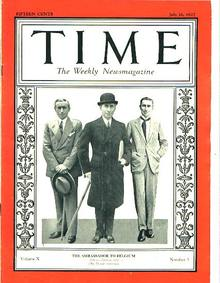 TIME, Ambassador Hugh Simpson Gibson, 7/18/27