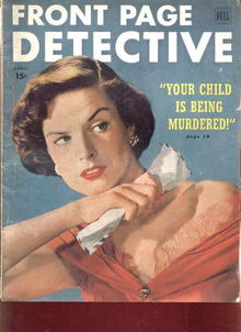 Front Page Detective/Apr.1950/Texas Rangers