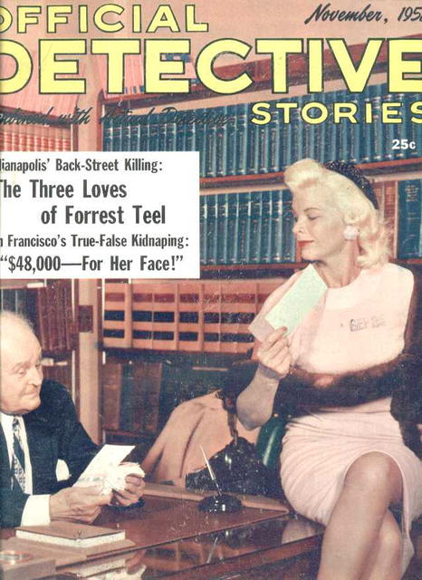 Off.Detective Stories/Nov.'58/Apes&Arson