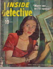 Inside Detective/Sept.1947/Classic Cover!