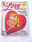 LOVE NOVELS 3/1947 Girl Adrift Hope Campbell