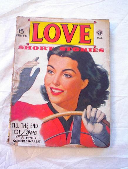LOVE MAGAZINE 3/1945 PHILLIS GORDON DEMAREST