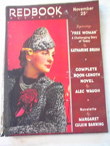 Nov,1936 Redbook magazine Katharine Brush