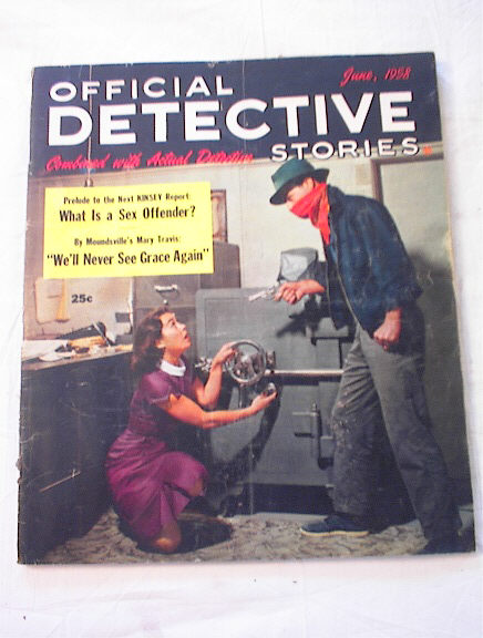 June,1958 Offical Detective Stories