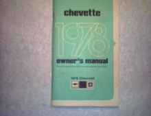 1978Chevette(Chevrolet )Owner's Manual