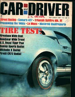 Car and Driver-9/67 Ford Beats Ferrari Cold