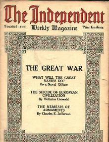 The Independent-8/17/14 The Great War