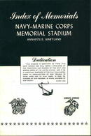Index of Memorials-Navy-Marine Corps Stadium