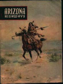 Arizona Highways-8/1953-