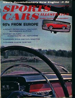 Sports Car Illustrated-2/59- Sunbeam Alpine!