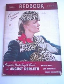 Redbook Magazine,1/1941,August Derleth!