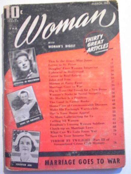 The Woman Magazine with Woman's Digest,1943