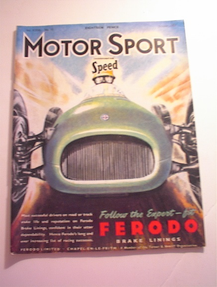 MOTOR Sport,10/1951,XXII G.P. D'Italia