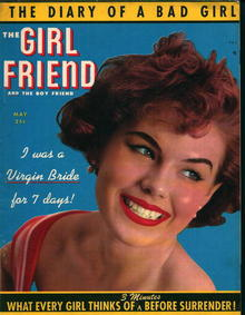 The Girl Friend-5/53-Diary of a Bad Girl!