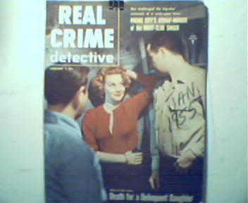 Real Crime Detective-1/55-Strangled Dancer!