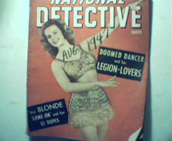 National Detective Cases-8/47-Doomed Dancer!