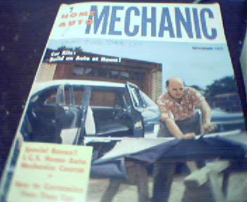 Home Auto Mechanic-11/55-53 Sudebaker,Custom