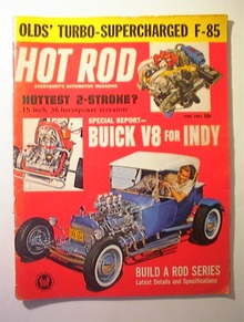 HOT ROD Magazine,6/1962,BUILD A ROD SERIES!