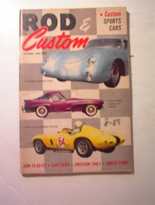 Rod and Custom,10/1959,CUSTOM CORVETTES!