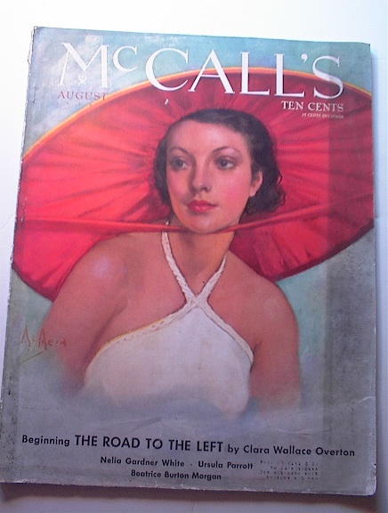 McCALL's Mag,8/1934,Clara Wallace Overton!!!!