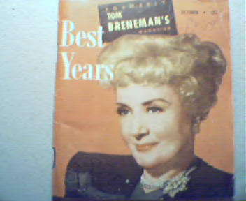 Best Years-10/48-Irving Berlin, Happy as Wife