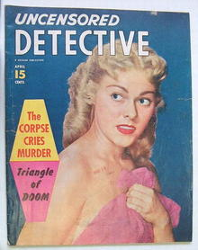 Uncensored Detective,Vol.8,#10,April 1953
