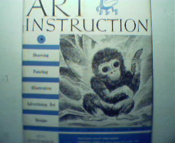 Art Instruction-9/38-Rubber Painting,Sketchin