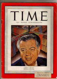 Time Magazine-Aug.29, 1949 labors dubinsky