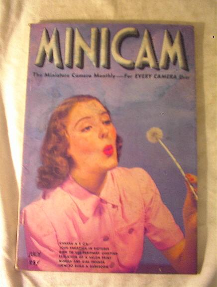 MINICAM Magazine,Birds of War,July 1939