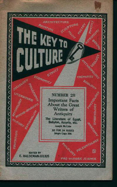 Keys to Culture No.28-Writers of Antiquity