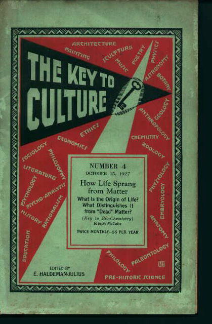 Keys To Culture No.4 Life Sprang from Matter