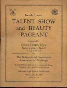 Black Masonic Lodge Pittsburgh 1953 show