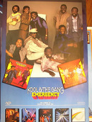 KOOL & THE GANG EMERGENCY ALBUM POSTER