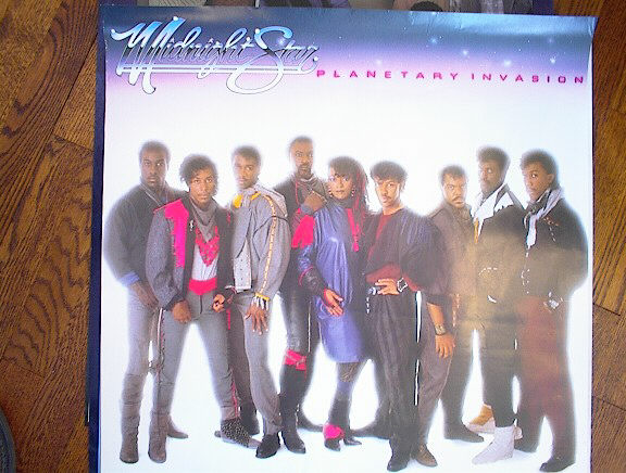 MIDNIGHT STAR PLANETARY INVASION ALBUM POSTER