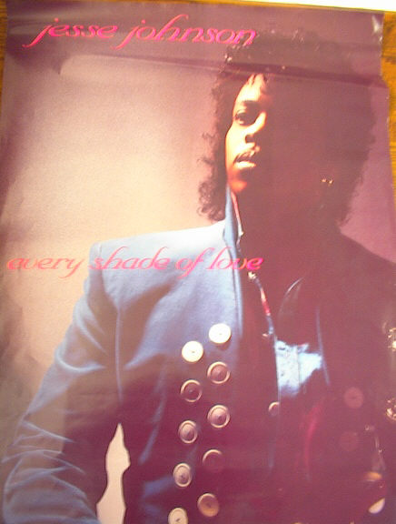 JESSE JOHNSON EVERY SHADE OF LOVE POSTER