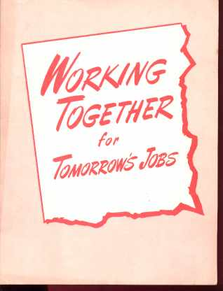 Working Together for Tomorrows Jobs 1952 NUL