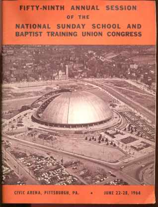 Baptist Training Union Nat'l Sun. School 1964